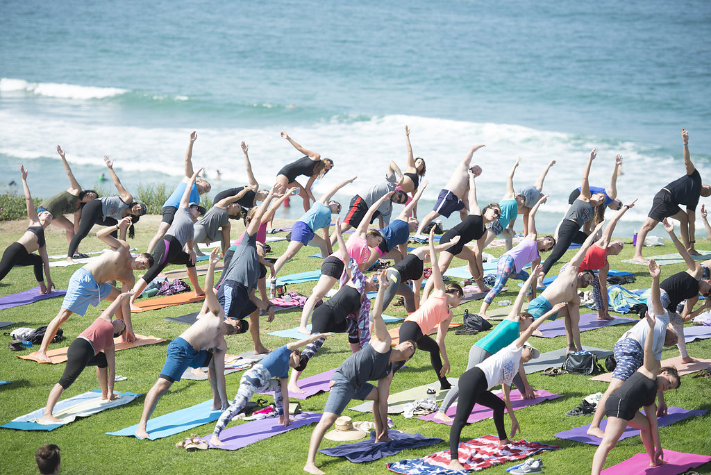 September is National Yoga Month